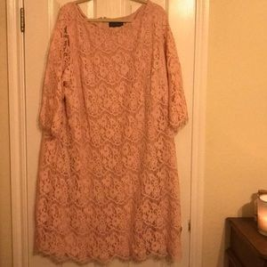 Great Pink dress in size 24!